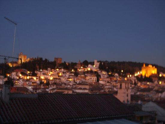 Melia Granada:                   vistas desde la ventana