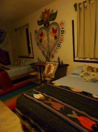 El Jardin de Frida:                   LA GARZA