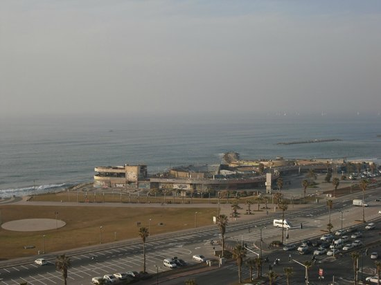 Dan Panorama Tel Aviv:                   View from Hotel Room