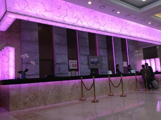 Haeundae Centum Hotel:                                     Reception
