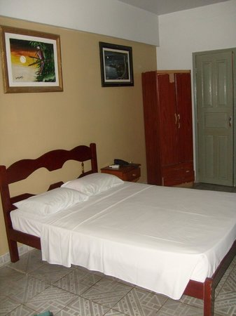 Novo Hotel Brasil:                   Colchão macio