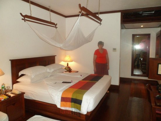 Belmond La Residence d'Angkor:                   OUR ROOM