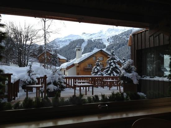 Hotel Le Grand Coeur & Spa: vue du restaurant