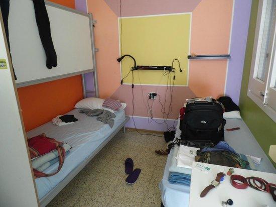 Albergue Studio:                   Our room