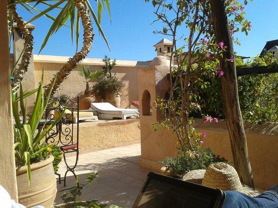 Dar Mouassine :                                     la terrasse