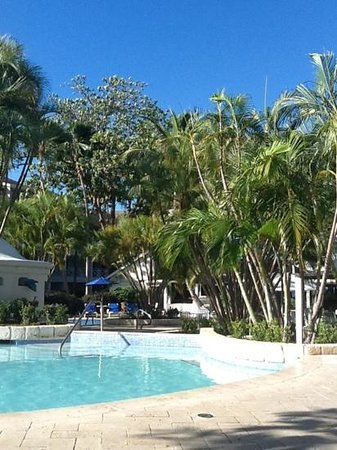 The Club, Barbados Resort and Spa:                   poolside