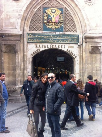 Distrik Sultanahmet:                   grand bazar