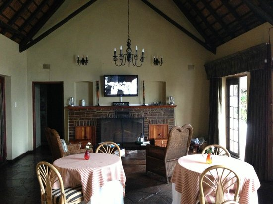 Idle Monkey: The revamped dining room including Sat TV and free WiFi