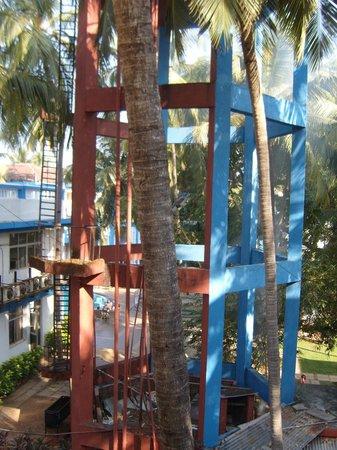 Phoenix Park Inn Resort:                                                       water tower
