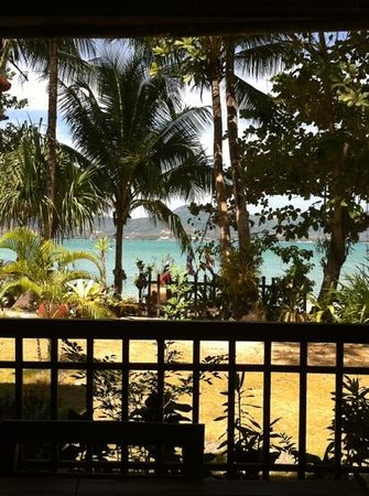 Baan Mai Cottages:                                     Aussicht vom Restaurant