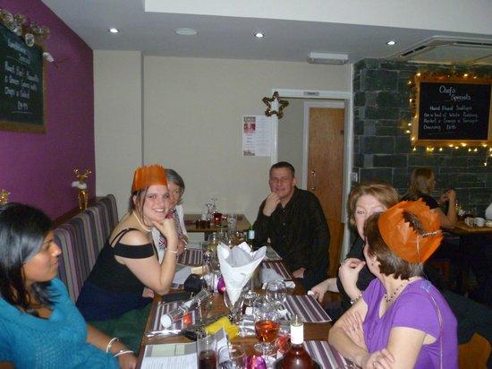 Lakes Bar & Bistro :                   christmas dinner staff meal