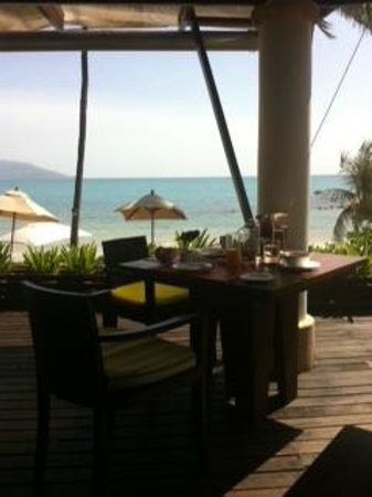 Melati Beach Resort & Spa:                   Melati Beach Side Restaurant