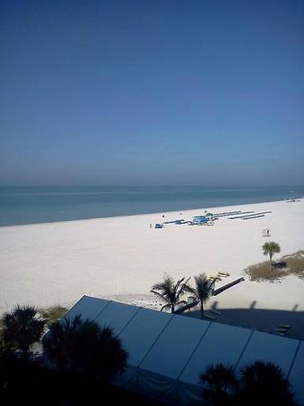 Grand Plaza Beachfront Resort Hotel & Conference Center:                   View from our private balcony