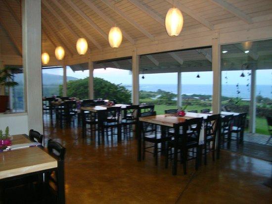 Hotel Altiplanico:                   Restaurante com vista para o mar