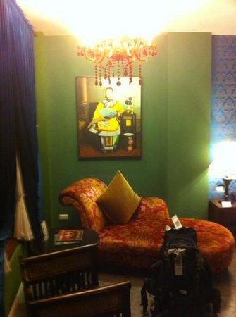 Shanghai Mansion Bangkok:                   Deluxe Zimmer