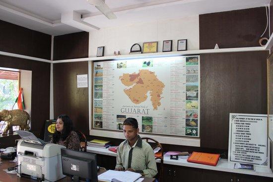 Gir Jungle Lodge: Accountant Office