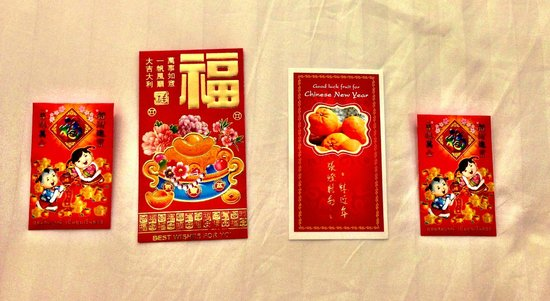 La Flora Resort Patong:                   Lucky red pockets for CNY