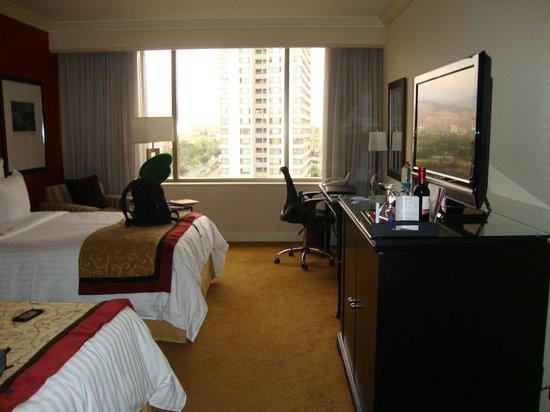 Santiago Marriott Hotel:                   Apartamento