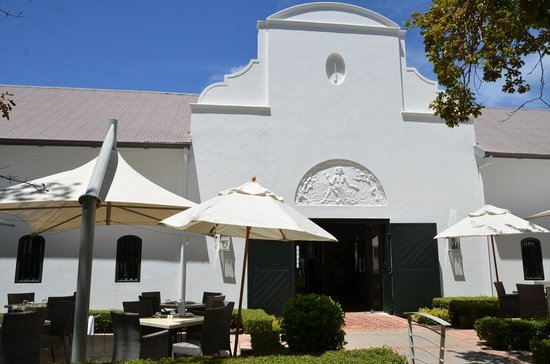 Catharina's Restaurant at Steenberg: terrasse du restaurant