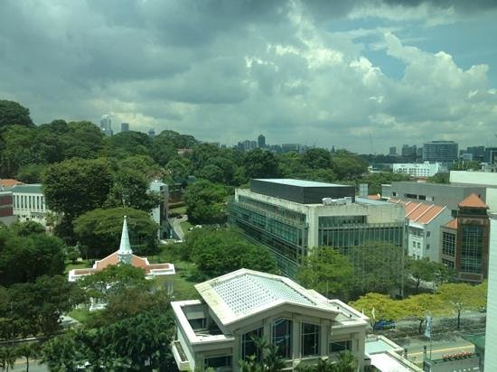 Grand Park City Hall:                   view from our room