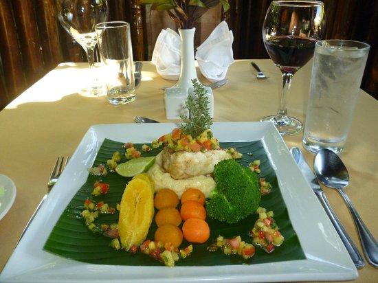 Bamboo restaurant soufri re omd men om restauranger for Restaurant jardin 78