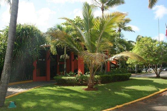 Grand Paradise Samana:                   Reception