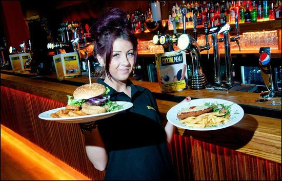 Walkabout Pub & Bar: BBQ Menu at Walkabout