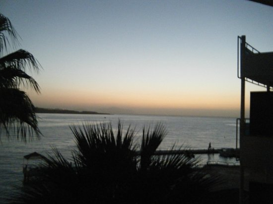 Lido Sharm Hotel:                   View from our room at dawn