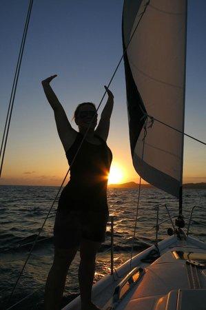 Roatan Sailing with Captain Alex:                                     We love Roatan!