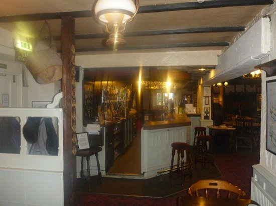 The Helyar Arms:                   The well appointed bar & dinning area.
