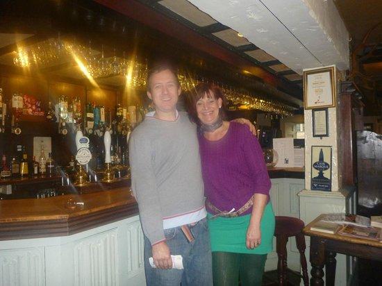 The Helyar Arms :                   Me & Matt the Landlord