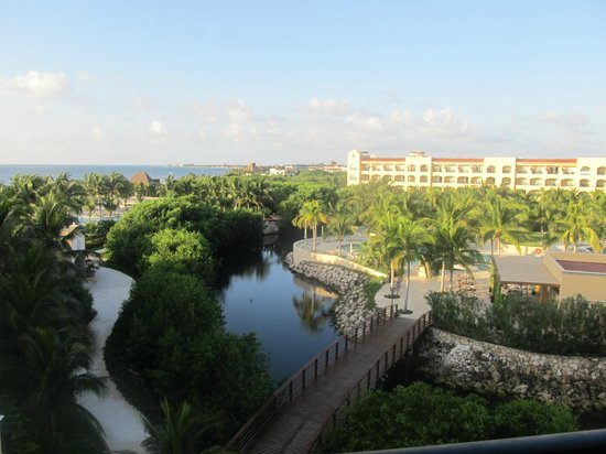 Hacienda Tres Rios:                   view from 3rd floor balcony