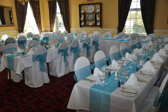The Gretna Chase Hotel:                   Our reception