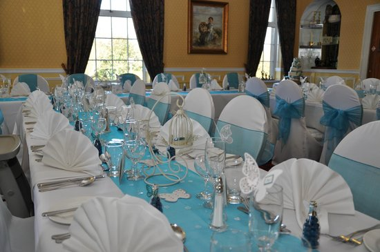 The Gretna Chase Hotel:                   Tables