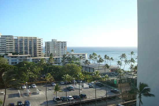 Lotus Honolulu at Diamond Head:                   View of the Pacific from an Ocean View Room