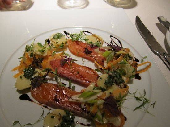Sofitel Paris Baltimore Tour-Eiffel:                   Starter  - the meal was fabulous!