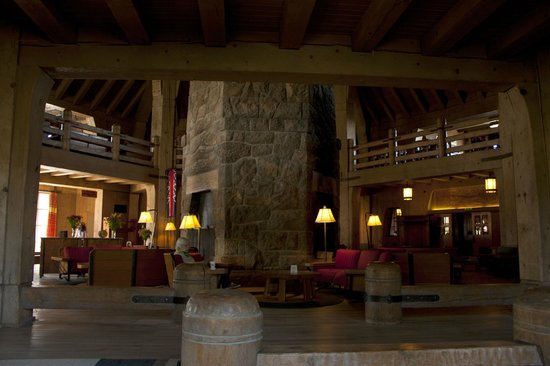 Timberline Lodge:                   Heart of the hotel