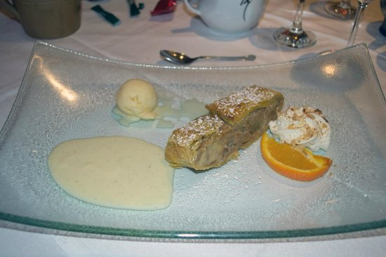 Hotel Restaurant du Donon :                   Le dessert