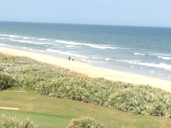 Hammock Beach Resort:                   View from our room