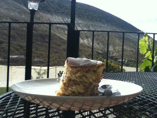 Refugio Romano:                   tiramisu  delicioso!