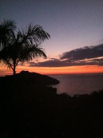 Tulemar Resort:                   Sunset