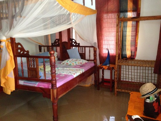 Mbuyuni Beach Village:                                     Chambre