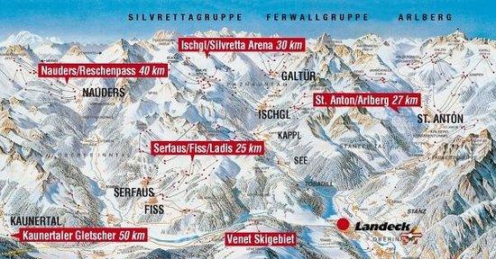 Hotel Schrofenstein: Traumhafte Skisafari