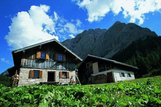 Hotel Schrofenstein: Berghütte