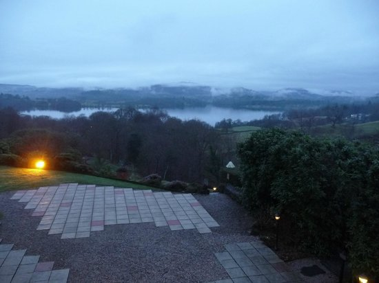 Holbeck Ghyll Country House:                   View of the lake from the Terrace