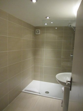 Craigatin House & Courtyard: Shower (room 16)