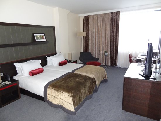 Hilton London Canary Wharf: Room 1308
