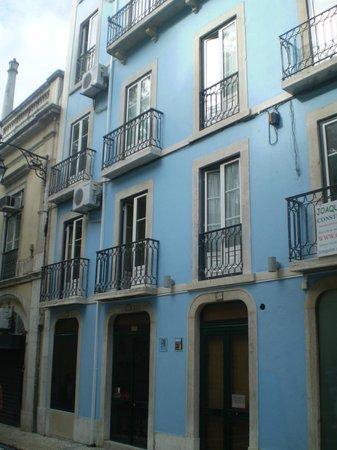 Hotel Portuense:                   fachada da Pensão