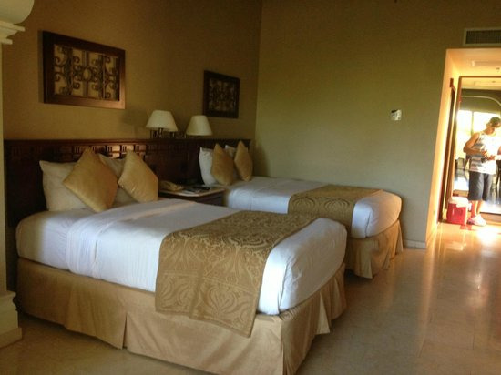 Gran Melia Golf Resort Puerto Rico: Double not full size beds