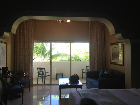 Melia Coco Beach : high ceilings